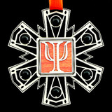 Greek Psi Symbol Ornament