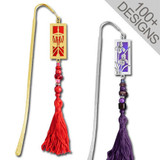 Decorative Beaded Hook Bookmarks