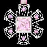 Craftsman Rose Ornament