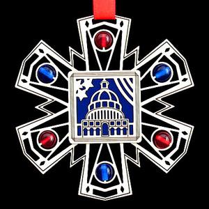 Capitol Building Ornament
