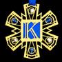 Monogram Letter K Ornament