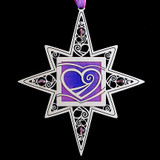 Silver Heart Ornament
