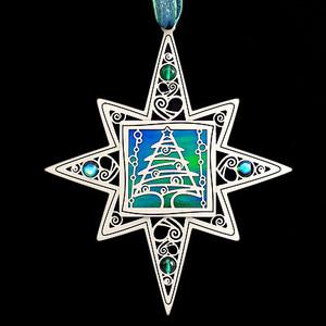I Love Christmas Ornament