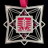 Red Rowing Crew Ornament