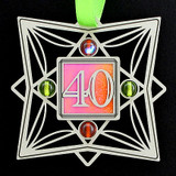 40th Anniversary Christmas Tree Ornament