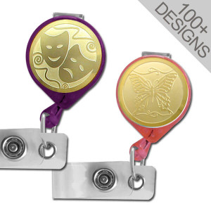 USA Quality Pull-Out Badge Holder Reels