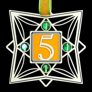 5th Anniversary Ornament