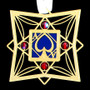Ace of Spades Ornament