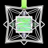 Abstract Ribbon Ornament