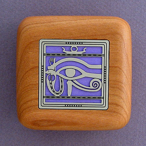 Egyptian Wooden Engagement Ring Boxes