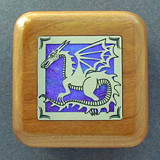 Dragon Wooden Engagement Ring Boxes