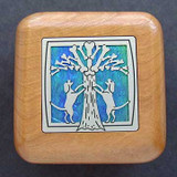 Dogs & Bone Tree Small Wooden Box
