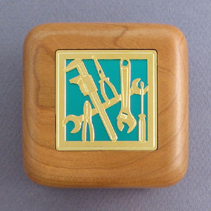 Hand Tools Wooden Ring Box