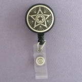 Sheriff Star Retractable I.D. Badge Holders