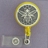 Bee ID Badge Holders