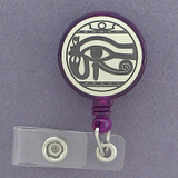 Egyptian Eye of Horus Badge Holders