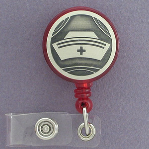 Nurse Cap ID Badge Holders