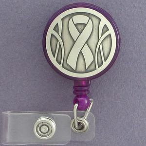 Awareness Ribbon ID Badge Holders