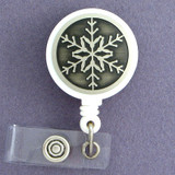 Snowflake ID Badge Holders
