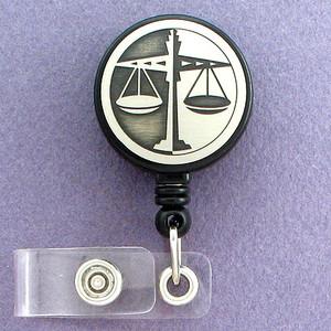 Lawyer Scale ID Badge Holders