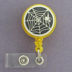 Spider Badge ID Holder