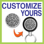 Customize a Retracting Key Reel - Black