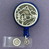 Mountain ID Badge Holders