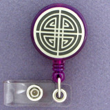 Imperial Labyrinth Crest ID Badge Holders