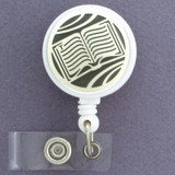 Book Lover ID Badge Reel