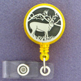 Deer Retractable Security ID Badge Holders