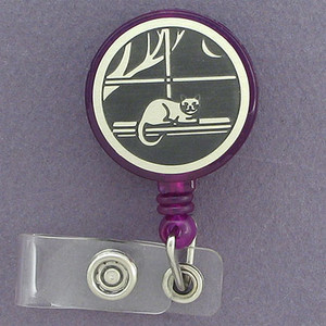 Kitty Badge ID Badge Holders