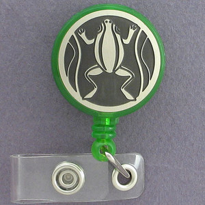 Frog ID Badge Holders