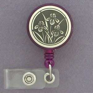 Bearded Iris ID Badge Holders