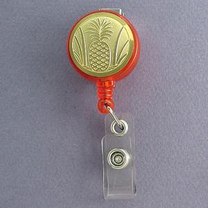 Pineapple Badge Holders