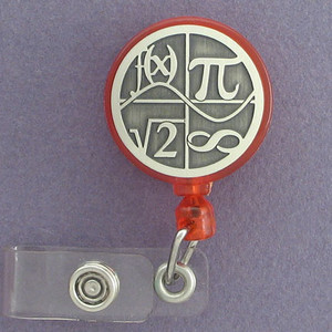 Mathematics Badge Holders