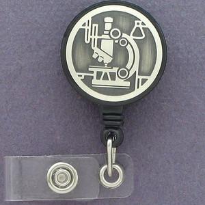 Microscope ID Badge Holders