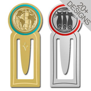 Unusual Metal Bookmark Clips