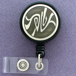 Creative Art Nouveau ID Badge Holders