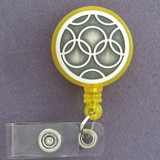 Olympian Rings ID Badge Holders