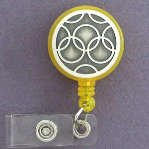 Olympian Rings ID Badge Holders
