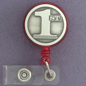 1st Retracting Name ID Badge Holder Reel