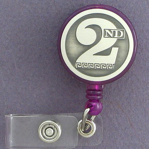 2nd ID Pull-out Cord Badge Holders
