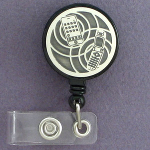 Wireless Cell Phones ID Badge Holders