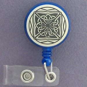 Celtic Knot ID Badge Holders