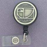 Fibonacci Sequence ID Badge Holders