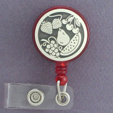 Fruit Retractable ID Name Badge Reels