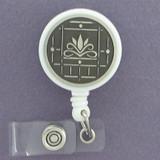 Lotus Flower ID Badge Holders
