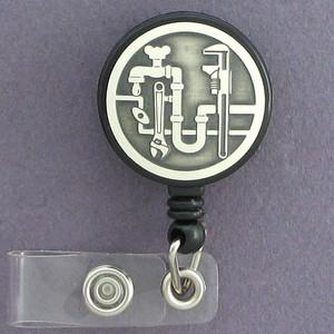 Plumber ID Badge Holders