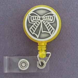 Yellow Ribbon ID Badge Holders