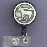 Obstinate Donkey ID Badge Holders